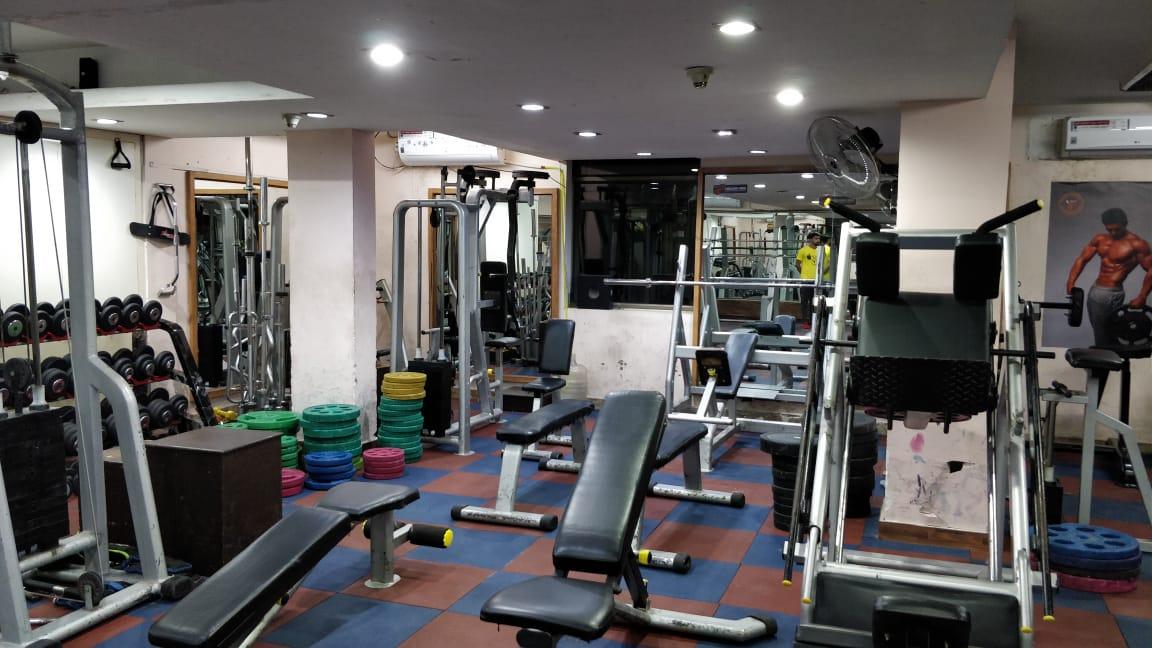 steel gym delhi